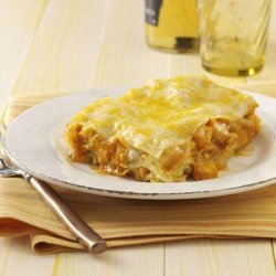 Mexican Chicken Lasagna recipe