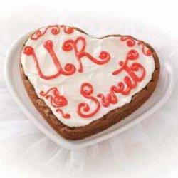 Heart Brownie Cookie recipe