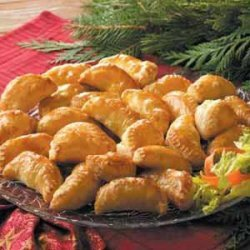 Curried Chicken Turnovers recipe
