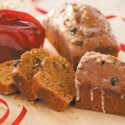 Pistachio Pumpkin  Bread recipe