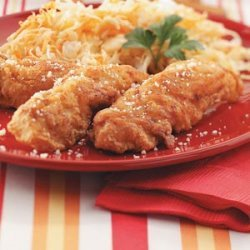 Southern Fried Chicken Strips recipe
