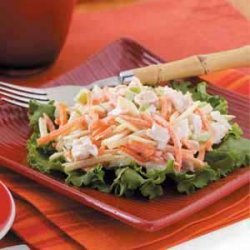 Colorful Turkey Salad recipe