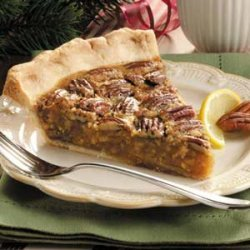 Lemon Pecan Pie recipe