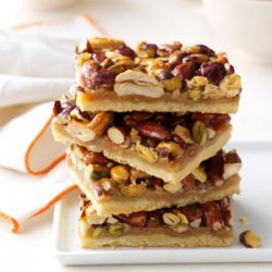 Rustic Nut Bars recipe