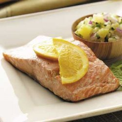 Salmon with Pineapple Salsa recipe