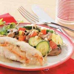 Parmesan Vegetable Saute recipe