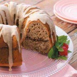 Pecan Sour Cream Cake recipe