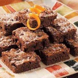 Double Chocolate Orange Brownies recipe