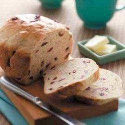 Tender Cranberry Oat Bread recipe