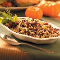 Cranberry Wild Rice Dressing recipe