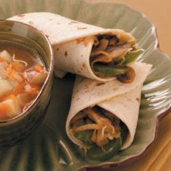 Teriyaki Veggie Wraps recipe