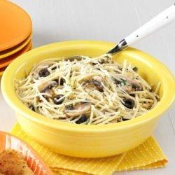 Pasta with Garlic Oil recipe