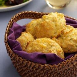 Cornmeal-Chive Drop Biscuits recipe