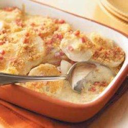 Creamy Ham 'n' Egg Casserole recipe