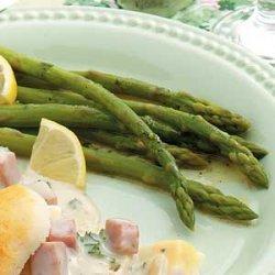 Vinaigrette Asparagus Salad recipe