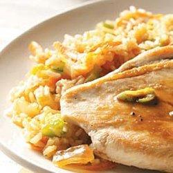 Microwave Veggie Pilaf recipe