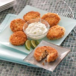Crab Cakes with Lime Sauce recipe