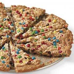 Oatmeal Cookie Pizza recipe