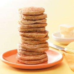 Silver Dollar Oat Pancakes recipe