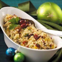 Pine Nut and Cranberry Rice Pilaf recipe