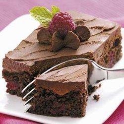Raspberry Truffle Brownies recipe
