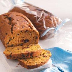 Sweet Cranberry Pumpkin Bread recipe