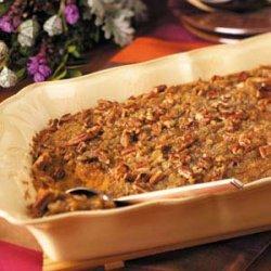 Sweet Potato Casserole with Pecans recipe