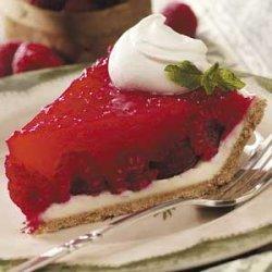 Raspberry Patch Cream Pie recipe