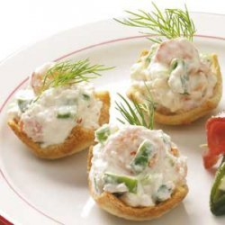 Shrimp Toast Cups recipe