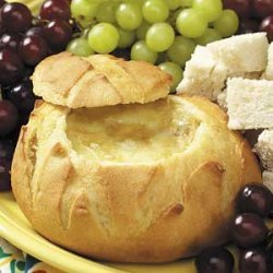 Baked Brie with Roasted Garlic recipe
