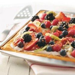 Coconut Berry Pizza recipe