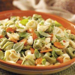 Carrot Tortellini Salad recipe