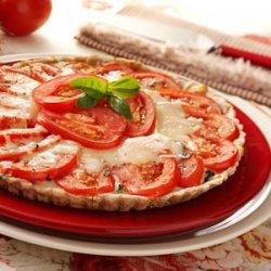Fresh Tomato Basil Tart recipe