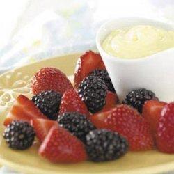 Simple Lemon Fruit Dip recipe