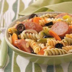 Smoked Sausage Pasta recipe