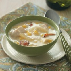 Au Gratin Chicken Chowder recipe