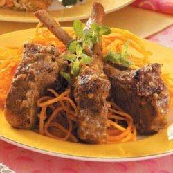 Rosemary-Rubbed Lamb Chops recipe