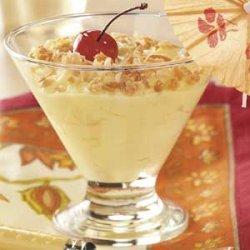 Pina Colada Pudding Cups recipe