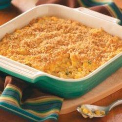 Scalloped Corn Bake recipe