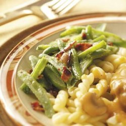 Dressed-Up French Green Beans recipe