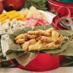 Sesame Cheese Crackers recipe