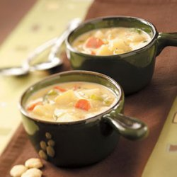 Hearty Cheese Soup recipe