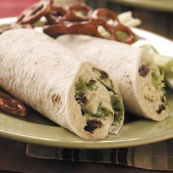 Turkey Apple Salad Wraps recipe