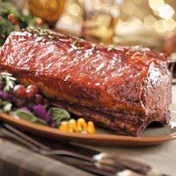 Glazed Pork Roast recipe