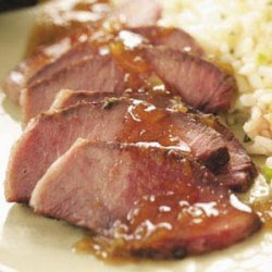 Steak with Orange-Thyme Sauce recipe