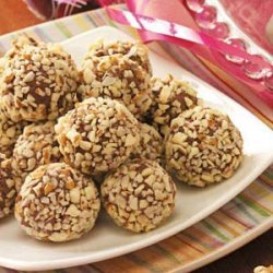 Chocolate Raspberry Truffles recipe