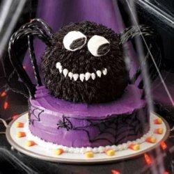Spooky Spider Cake recipe