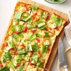 Chicken Caesar Pizza recipe