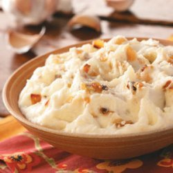 Texas Garlic Mashed Potatoes recipe