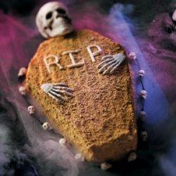 Coffin Pumpkin Cake recipe